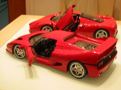 Tamiya Ferrari Enzo Amp F50